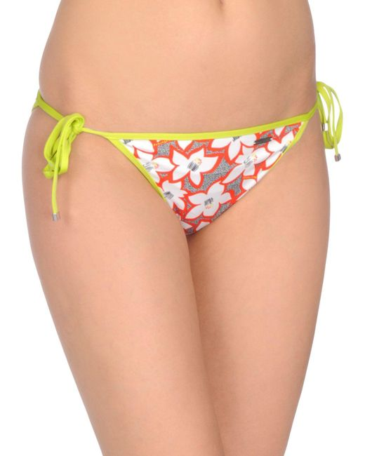 DSquared² - Red Swim Briefs - Lyst
