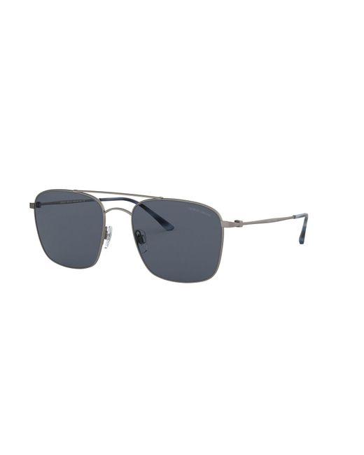 07738d77ec34 Giorgio Armani - Gray Sunglasses for Men - Lyst ...