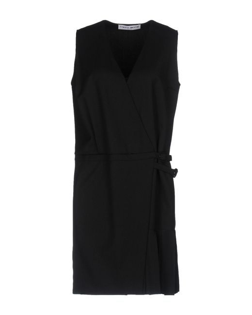 Frankie Morello | Black Short Dress | Lyst
