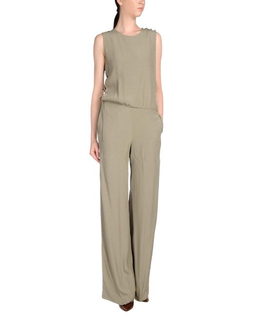 INTROPIA - Green Jumpsuits - Lyst