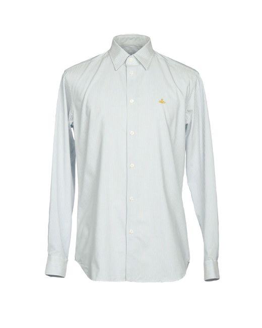 Vivienne Westwood - Blue Shirts for Men - Lyst