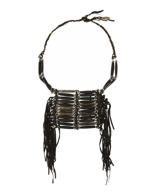 Roberto Cavalli | Brown Necklace | Lyst