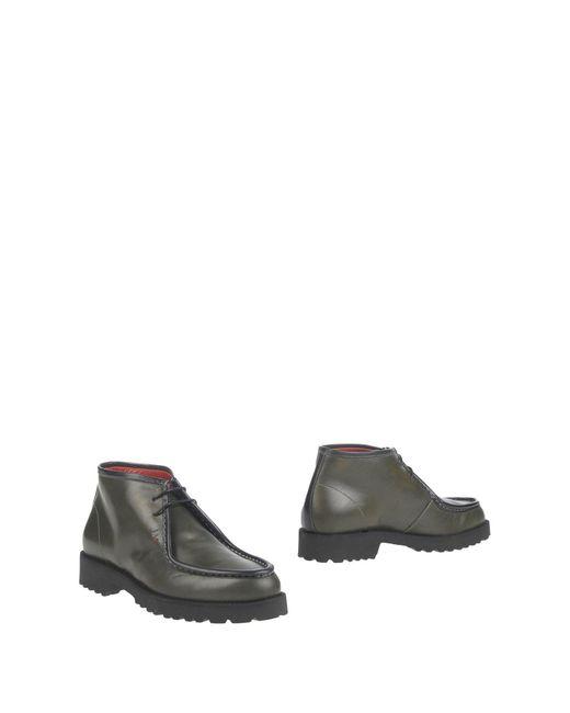 Gianfranco Lattanzi - Green Ankle Boots - Lyst