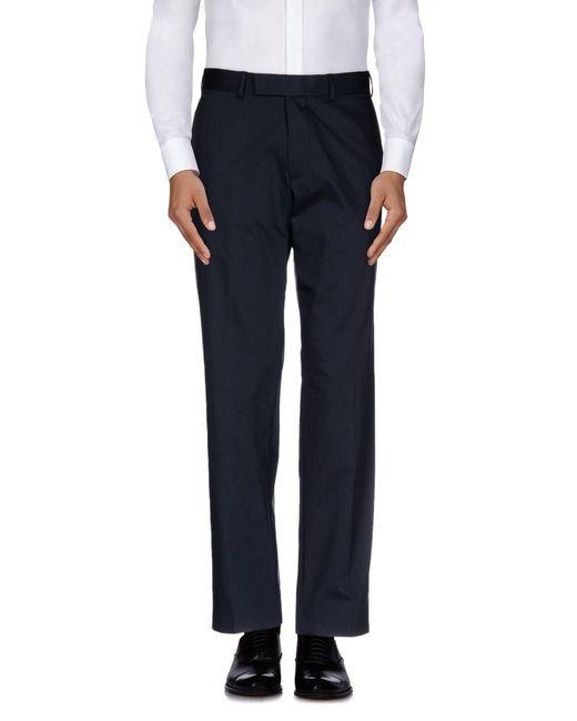 BOSS Black - Gray Casual Trouser for Men - Lyst