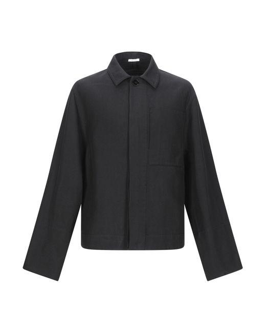 Jil Sander Black Coat for men