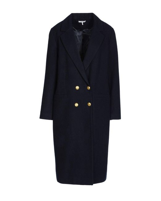 Ganni - Blue Coat - Lyst
