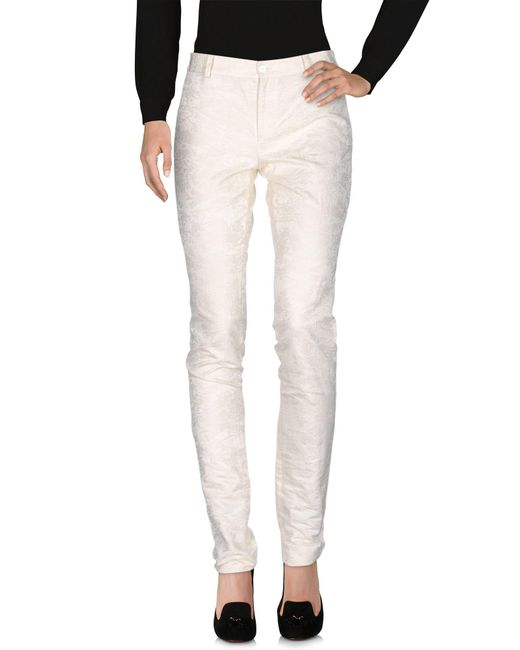 Ralph Lauren Collection - White Casual Trouser - Lyst