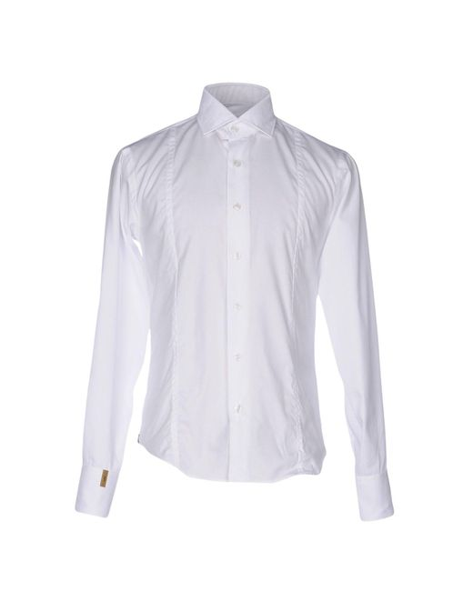 Billionaire | White Shirt for Men | Lyst