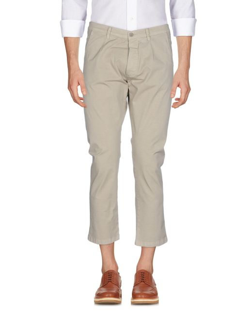 26.7 Twentysixseven - Natural Casual Trouser for Men - Lyst