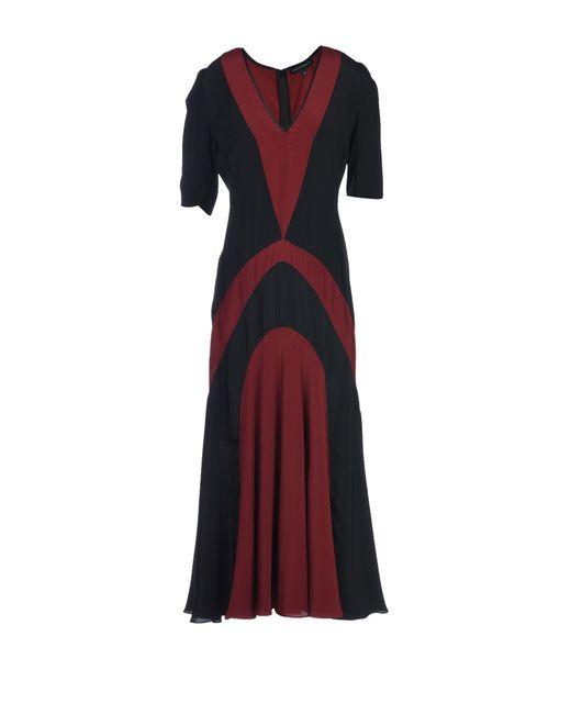 Jonathan Saunders - Black 3/4 Length Dress - Lyst