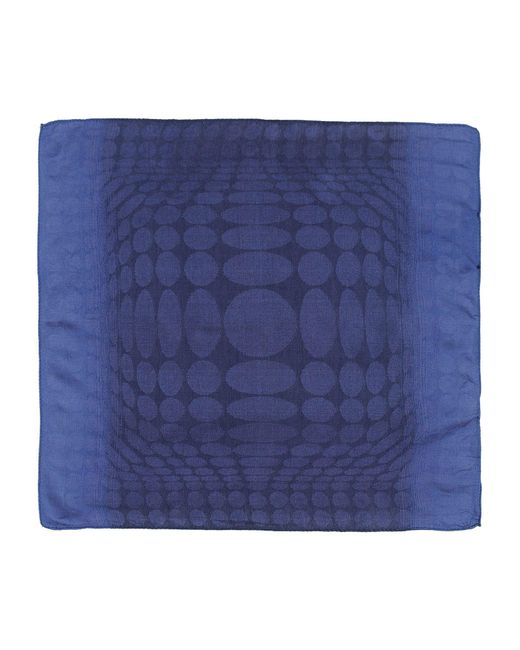 Tonello | Blue Square Scarf for Men | Lyst