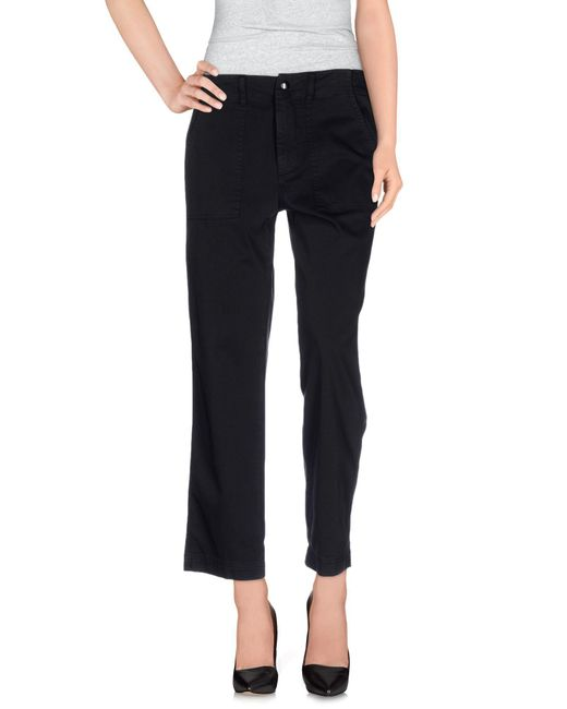Dondup - Black Casual Trouser - Lyst
