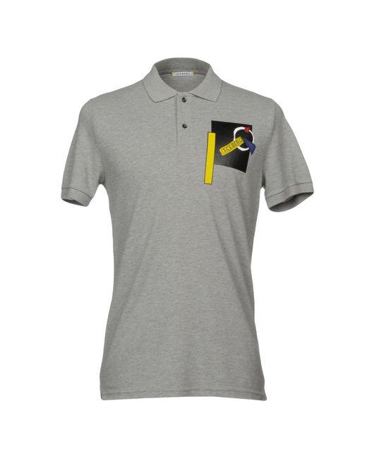 Iceberg - Gray Polo Shirt for Men - Lyst