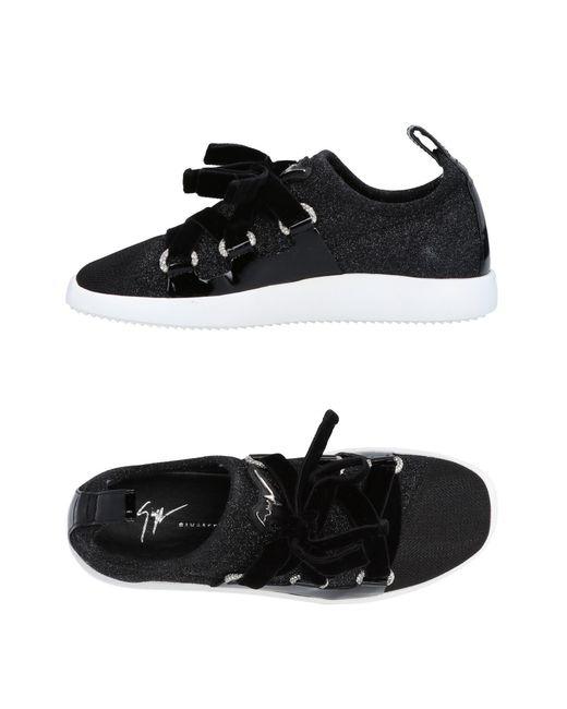 Giuseppe Zanotti - Black Low-tops & Sneakers - Lyst