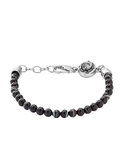 DIESEL | Black Bracelet for Men | Lyst