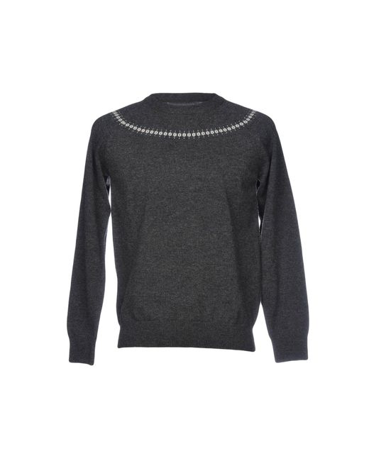 Still By Hand - Gray Sweater for Men - Lyst