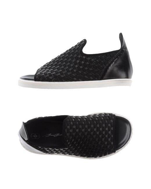 Bruno Bordese - Black Sandals - Lyst
