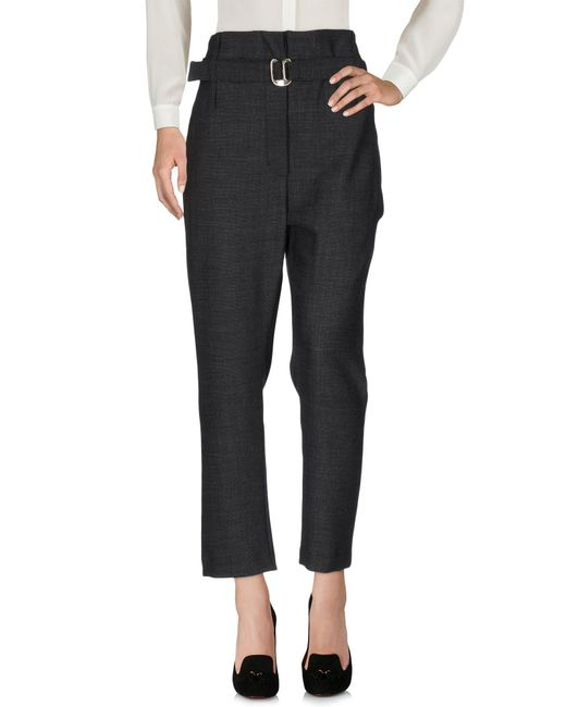 Malloni - Black Casual Pants - Lyst
