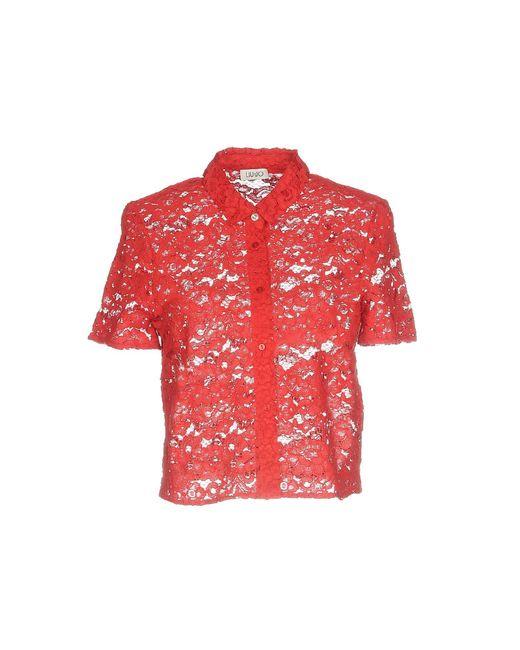 Liu Jo - Red Shirts - Lyst