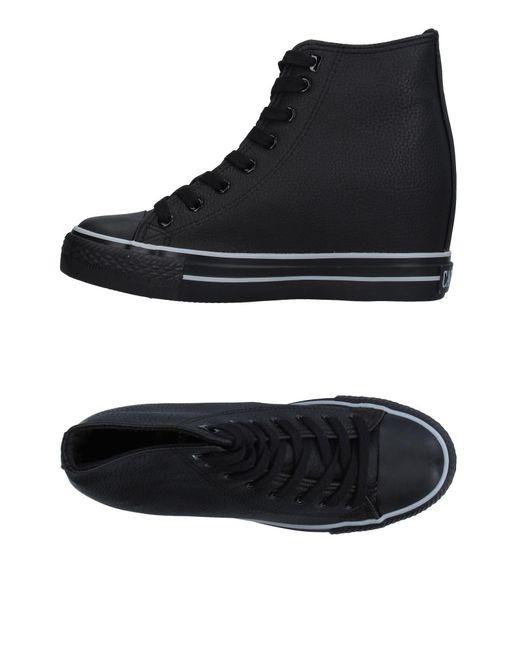 CafeNoir - Black High-tops & Sneakers - Lyst