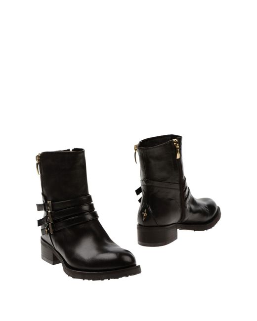Cesare Paciotti - Brown Ankle Boots - Lyst