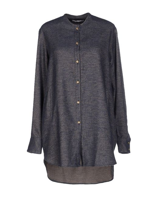 Aglini - Gray Shirts - Lyst
