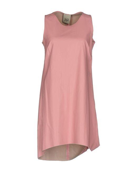 Jijil - Pink Short Dress - Lyst
