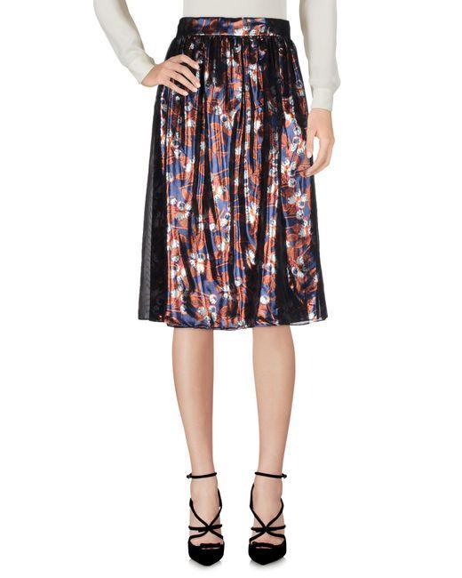 Mother Of Pearl - Blue Knee Length Skirt - Lyst