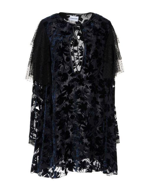 Au Jour Le Jour - Blue Short Dress - Lyst