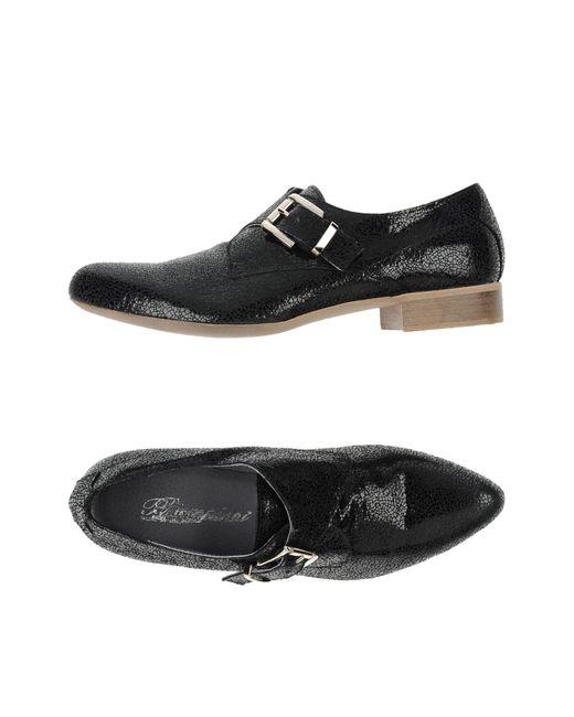Piampiani - Black Loafer - Lyst