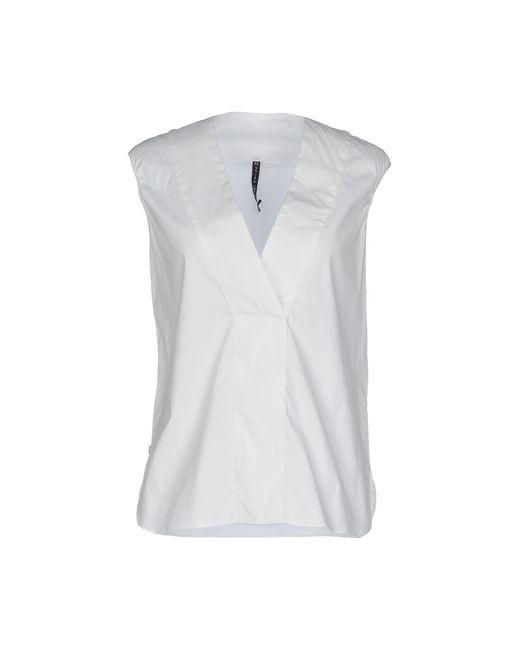 Manila Grace - White Tops - Lyst