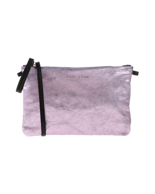 Cuir Rose - Purple Handbag - Lyst
