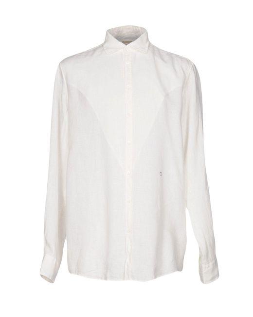 Massimo Alba - White Shirt for Men - Lyst