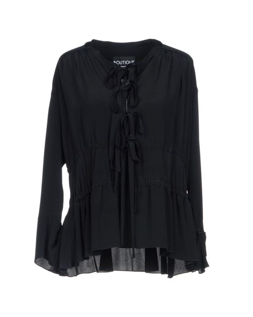 Boutique Moschino - Black Blouses - Lyst