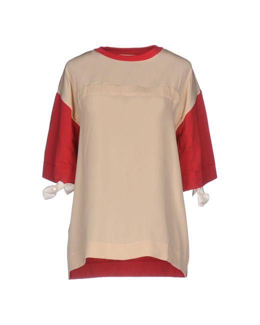 Marni - Natural T-shirts - Lyst