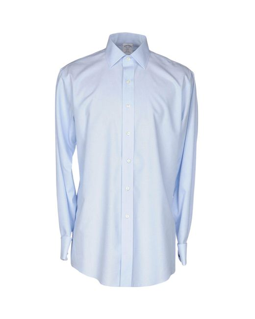 Brooks Brothers   Blue Shirt for Men   Lyst