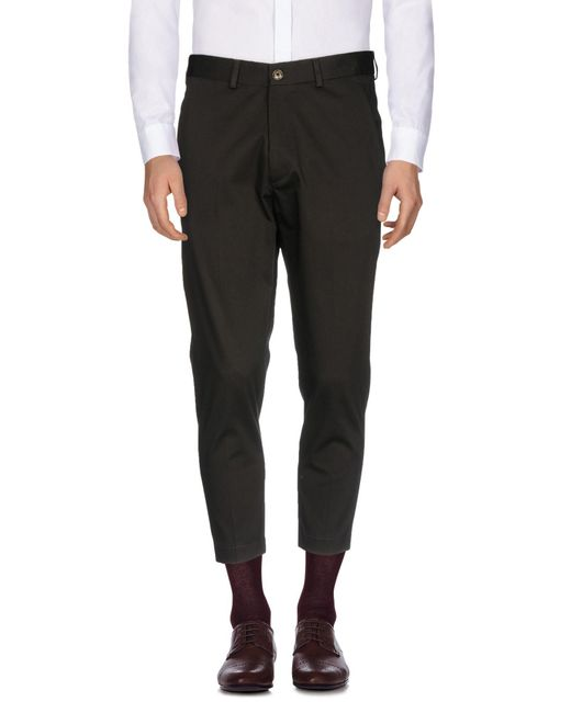 26.7 Twentysixseven - Green Casual Trouser for Men - Lyst