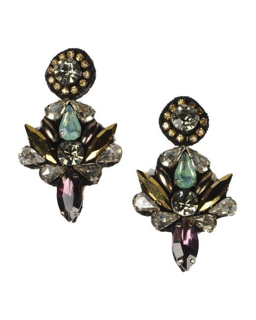 Deepa Gurnani   Purple Earrings   Lyst