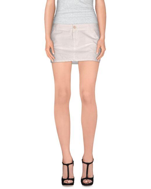 Manila Grace - White Mini Skirts - Lyst