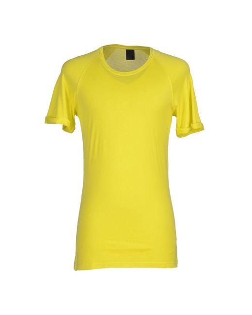 Jijil   Yellow T-shirt for Men   Lyst