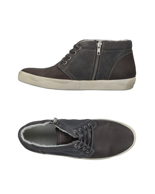 High Leather Men tops for Crown Sneakers Lyst amp; ERgqF4wOO