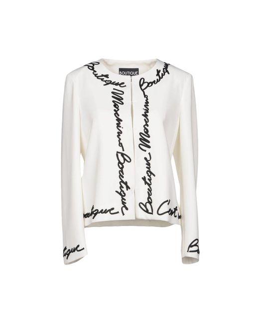 Boutique Moschino - White Blazers - Lyst