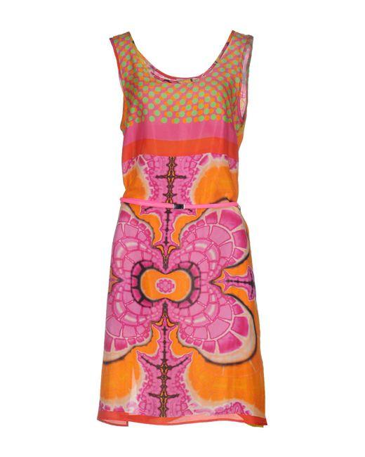 P.A.R.O.S.H.   Purple Knee-length Dress   Lyst