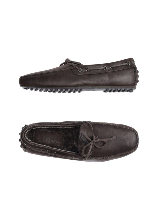 Car Shoe - Brown Loafers for Men - Lyst