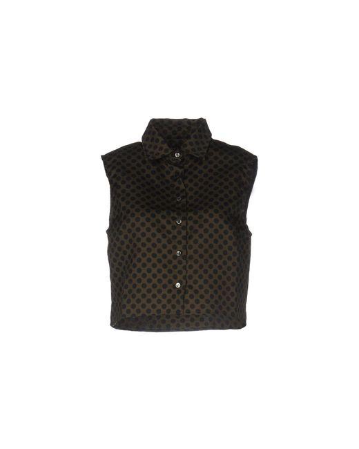 Department 5 - Black Shirt - Lyst