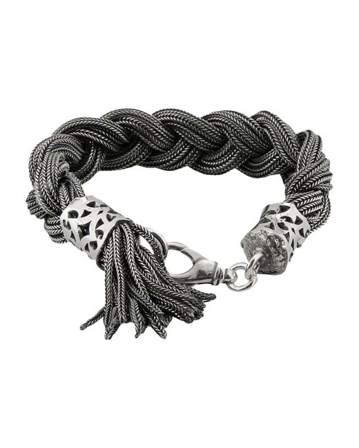 Emanuele Bicocchi - Gray Bracelet - Lyst