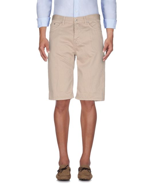 Dondup - Natural Bermuda Shorts for Men - Lyst