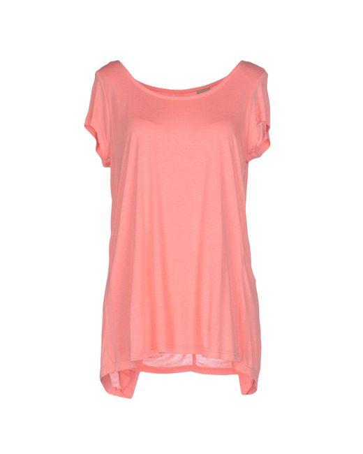 Bench - Pink T-shirt - Lyst