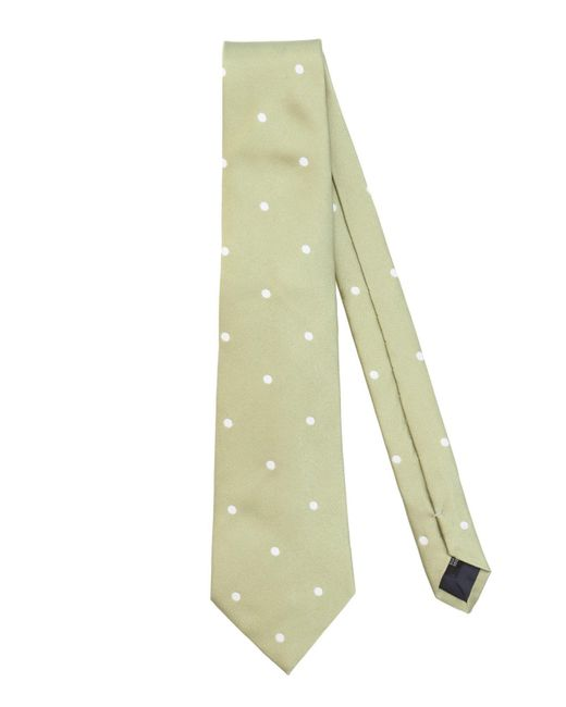 Les Copains - Green Ties for Men - Lyst