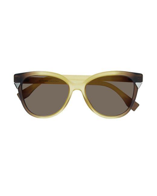 d5d70f558a Gafas de sol Fendi de color Neutro - Lyst